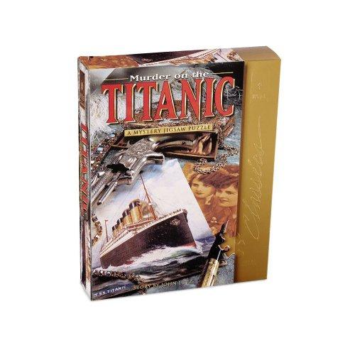 Murder Titanic Classic Mystery Jigsaw