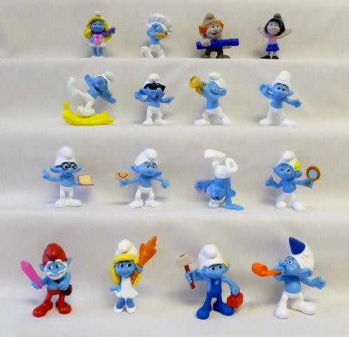 McDonalds - Smurfs 2 Happy Meal Set - 2013 (BRAND NEW) by Happy Meal Toys ()