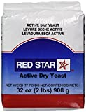 Best Yeasts - Red Star Active Dry Yeast, 2 Pound Pouch Review