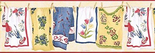 Laundry Wallpaper Border VIN7336B