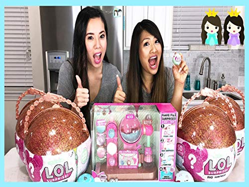 Clip: New Lol Surprise Charm Fizz Maker DIY with Princess ToysReview