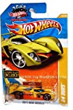 hot wheels license plate - Hot Wheels Yellow 24 OURS #10/244, 2011 New Models #10/50 - w/mini License Plate