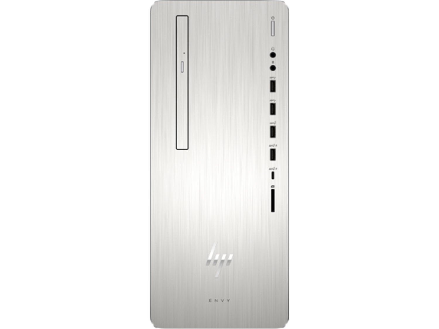 HP Envy 795qd Premium Desktop Workstation PC (Intel 8th Gen Coffee Lake  i7-8700 6-core, 64GB RAM, 1TB HDD + 256GB SSD, WiFi, Bluetooth, DVD-Writer,