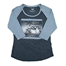 Hurley Womens Downtown Long Sleeve Raglan T-Shirt GTS0007170