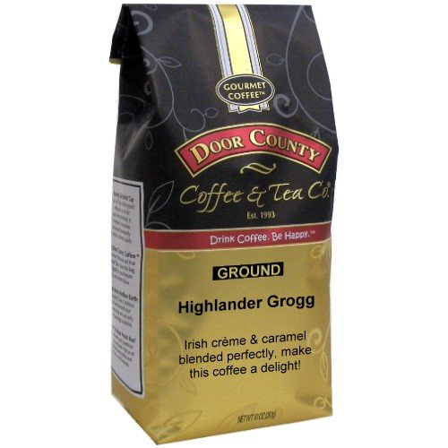 Door County Coffee Highlander Grogg  10Oz  Ground