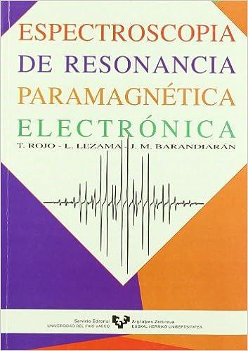 Espectroscopía de resonancia paramagnética electrónica