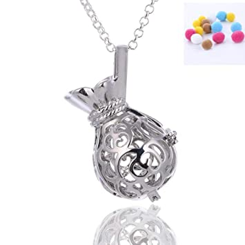 Diffuseur Essentielle Parfum Anlw Toon Bouteille Huile Collier W2I9DHE
