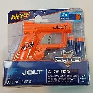 NERF N-Strike JOLT Micro Sized Mega Power Dart Blaster with (2) Foam Darts