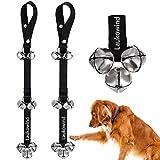 2 Pack Dog Doorbell for Potty Training Puppy - Laukowind Doggie Doorbell with Extra Loud Bells
