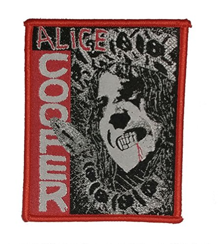 J&C Family Owned Alice Cooper Embroidered Sew/Iron-on Patch for $<!--$5.97-->
