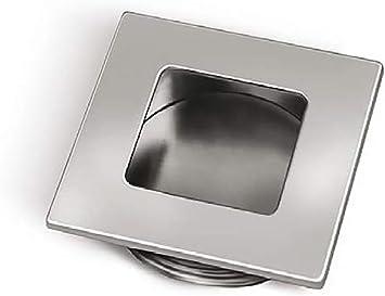 2 X Mprofi MT® Tirador Empotrado de Acero Inoxidable para Puerta Corredera Armario Cajón Mueble Gabinete: Amazon.es: Bricolaje y herramientas