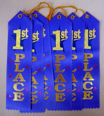 1st Place Ribbon Diploma Mill Award Ribbon
