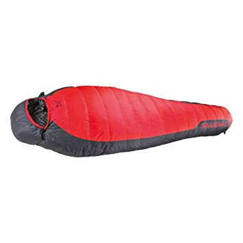 SALEWA Eco-7 SB Saco de Dormir, Unisex Adulto, Flame, Right: Amazon.es: Deportes y aire libre