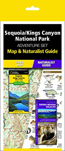 Sequoia/Kings Canyon National Park Adventure Set: Map & Naturalist Guide