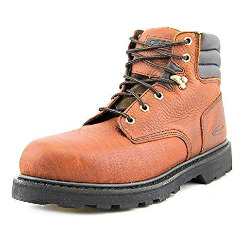 a554049e2942 hot sale Knapp Men s 6   Steel Toe Leather
