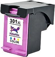 HaloFox 3 Cartuchos de Tinta Remanufacturados 301XL Negro y Tri ...
