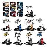 New Adventure STAR WARS Clone Series Minifigures Building Blocks Toy, 9Pcs/Set ABS Plastic Multi-color