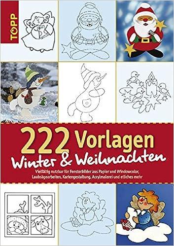 222 Vorlagen Winter Und Weihnachten Vielfältig Nutzbar Für