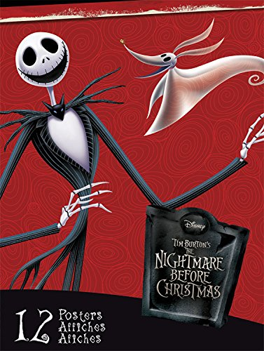 Trends International Nightmare Before Christmas Prints Poster Book 8.5