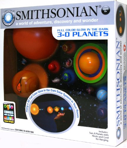 Awesome Nsi Toys Smithsonian 3 D Glowing Solar System