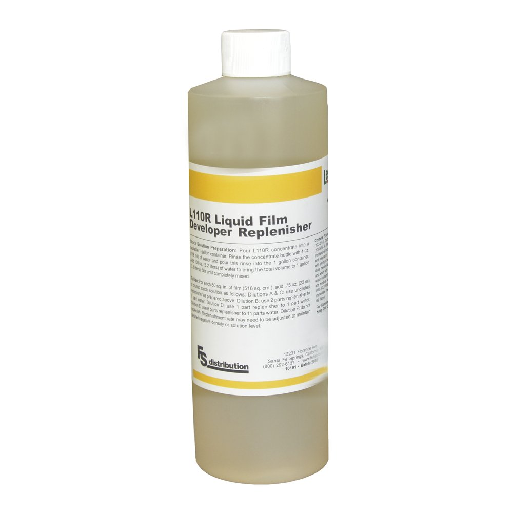 LegacyPro L110R Black & White Liquid Film Developer/Replenisher, 1 Pint (Makes 1 Gallon)