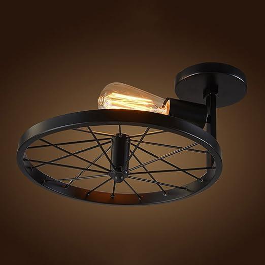 Ceiling Desinger American Simple Light Personality Wheel AL345Rj