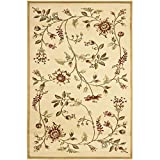 Safavieh Lyndhurst Collection LNH552-1291 Traditional Floral Ivory and Multi Area Rug (4′ x 6′) For Sale