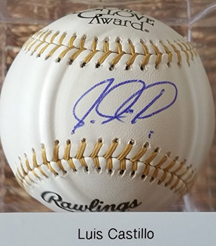 Luis Castillo Signed Autographed Official (OML) Gold Glove Baseball - COA Matching - Mall Luis