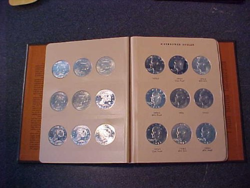 (1971-1978 Proof & Uncirculated Eisenhower Dollar Complete Set 32 Coins)