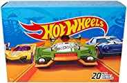 Hot Wheels 20-Car Pack of 1:64 Scale Vehicles, Gift for Collectors & Kids Ages 3 Years Old & Up [Style
