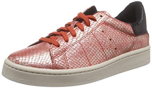 ESPRIT Gwen Lace Up Damen Sneakers Rot (825 red orange)