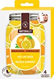 upper canada kitchen - Naturally 983103B Gel Facial Masks, 4-Pack, Energizing Vitamin C, 4 Piece