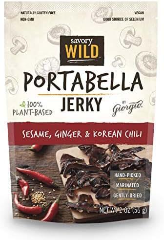 Jerky & Dried Meats: Savory Wild Portabella Jerky