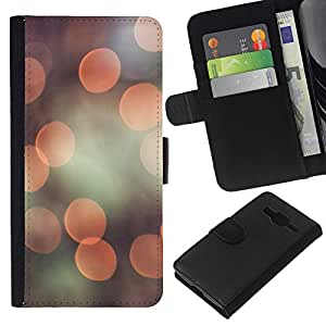 All Phone Most Case / Oferta Especial Cáscara Funda de cuero Monedero Cubierta de proteccion Caso / Wallet Case for Samsung Galaxy Core Prime // Camera Flare