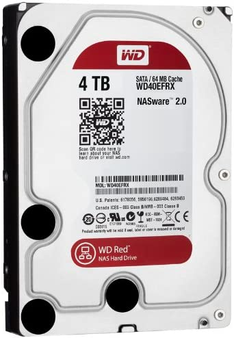 Western Digital WD40EFRX RED Internal