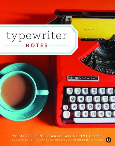 Typewriter Note - Typewriter Notes: 20 Different Cards & Envelopes
