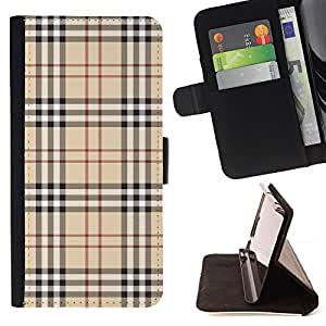 Jordan Colourful Shop - pattern english fashion clothing fabric haute couture For LG OPTIMUS L90 - < Leather Case Absorci????n cubierta de la caja de alto impacto > -
