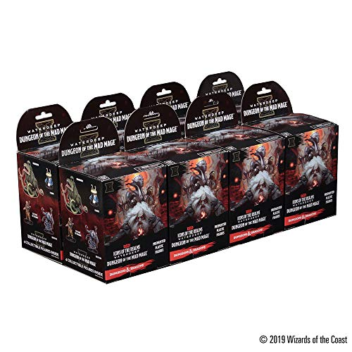 WizKids D&D Icons of The Realms: Waterdeep: Dungeon of The Mad Mage Booster Brick (8 ()