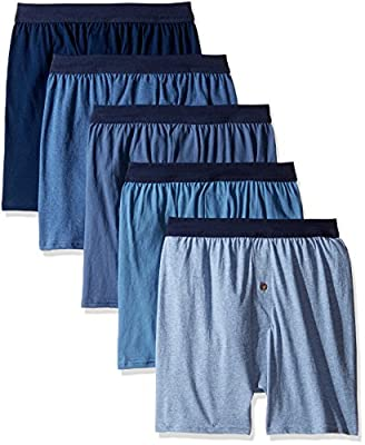 Hanes Men's 5-Pack Comfortsoft Boxer with ComfortFlex Waistbands