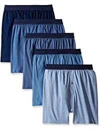 Hanes Red Label Men's Five-Pack Knit Boxers
