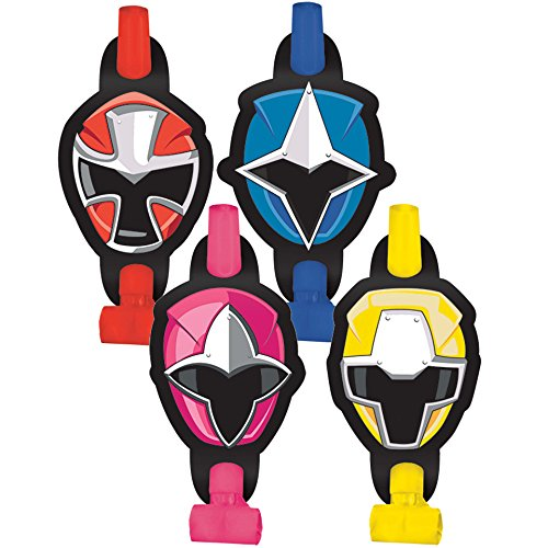 Power Rangers 'Ninja Steel' Blowouts (8 count) Birthday Party Supplies for $<!--$5.96-->