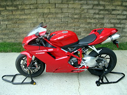 (Front Forklift and Rear Stand for Ducati Multistrada 1200, Streetfighter 1098/1198, Monster 1200, 6 bolt rear axle models)