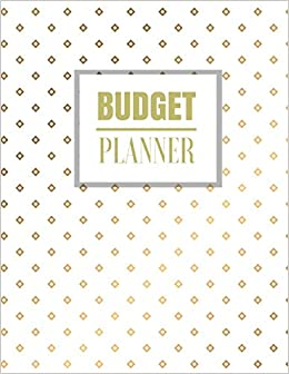amazon com budget planner gold elegance design budget planner book