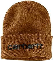 Carhartt Mens Knit Insulated Logo Graphic Cuffed Beanie