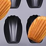 YumAssist 2 Pack Nonstick Madeleine Pan, 12-cup
