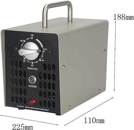 MOSMAT 2000 MG/h portátil ozonizador O3 purificador de Aire ...