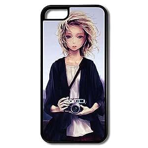 IPhone 5c Cases Camera Design Hard Back Cover Cases Desgined By RRG2G hjbrhga1544