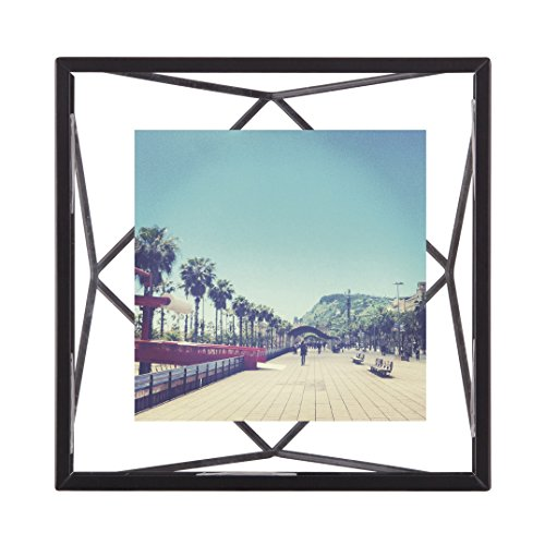 Umbra Prisma Picture Frame, 4 by 4-Inch, Black