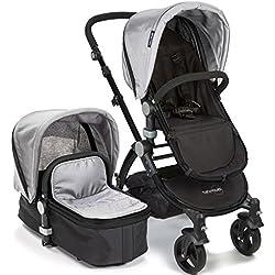 babyroues Letour IIB Stroller, Silver