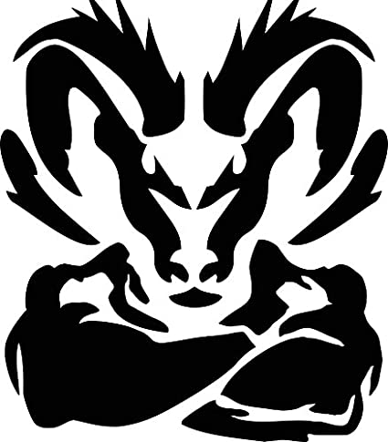 Amazon Com Decals Express Ram Muscle Tough Decal Compatible With